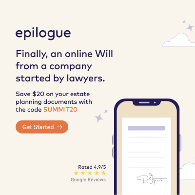 Epilogue with Discount
